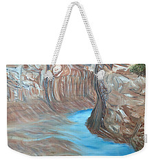 Streams Dream To Be A River Weekender Tote Bag