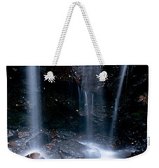 Weekender Tote Bag featuring the photograph Streams Of Light by Steven Reed