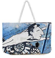 Street Art Santiago Chile Weekender Tote Bag