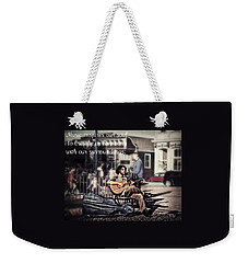 Street Beats Inspiration Weekender Tote Bag by Melanie Lankford Photography