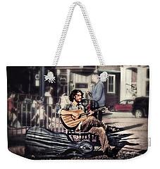 Street Beats Weekender Tote Bag by Melanie Lankford Photography