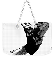 Street Crow Weekender Tote Bag by Jerry Cordeiro