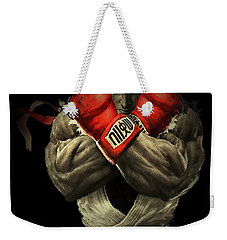 Street Fighter Weekender Tote Bag