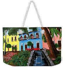 Street Hill In Old San Juan Weekender Tote Bag