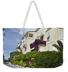 Weekender Tote Bag featuring the photograph Street In Monaco by Allen Sheffield