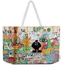 Street Mural At Liguanea Weekender Tote Bag