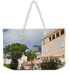 Weekender Tote Bag featuring the photograph Street Of Monaco by Allen Sheffield