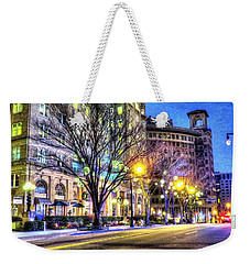 Street Scene In Georgia Weekender Tote Bag