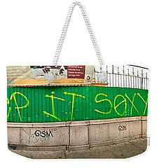Street Scene - Mexico City Weekender Tote Bag by Sean Griffin