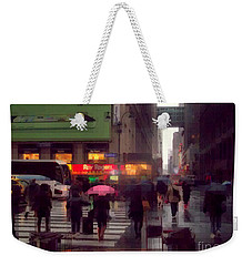 Street Scene - Seventh Avenue - New York Weekender Tote Bag