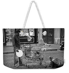 Street Vendor Weekender Tote Bag