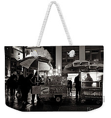 Street Vendor Row Weekender Tote Bag