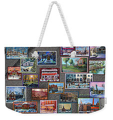 Streets Full Of Memories Weekender Tote Bag by Rita Brown