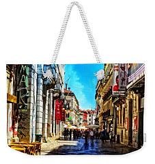 Streets Of Lisbon 1 Weekender Tote Bag