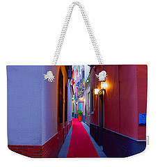 Streets Of Seville - Red Carpet  Weekender Tote Bag by Andrea Mazzocchetti