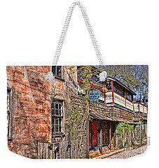 Weekender Tote Bag featuring the photograph Streets Of St Augustine Florida by Olga Hamilton
