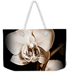 Strength And Beauty Sepia Weekender Tote Bag