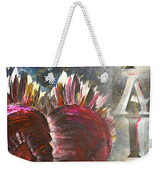 Striking Pain Weekender Tote Bag