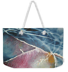 String Theory - Wave Weekender Tote Bag
