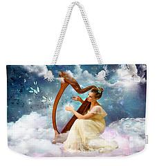 Strings Of My Heart Weekender Tote Bag