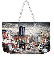 Strip District Pittsburgh Weekender Tote Bag by Emmanuel Panagiotakis