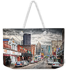 Strip District Pittsburgh Weekender Tote Bag