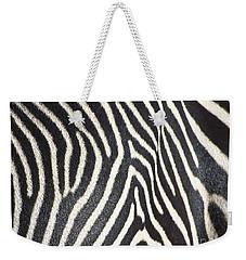 Stripes And Ripples Weekender Tote Bag by Kathy McClure