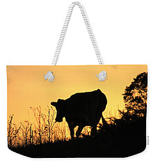 Weekender Tote Bag featuring the photograph Strolling Into The Sunset by Penny Meyers