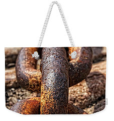 Strong Links Weekender Tote Bag by Dave Files