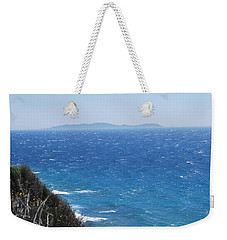 Weekender Tote Bag featuring the photograph Strong Mistral by George Katechis