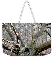 Struck By Lightning - Grafical Weekender Tote Bag by Tine Nordbred