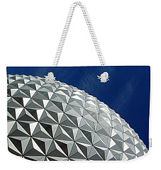 Weekender Tote Bag featuring the photograph Structural Beauty by David Nicholls