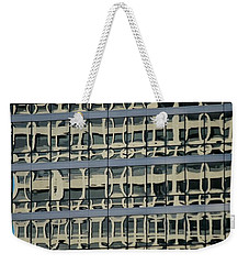 Weekender Tote Bag featuring the photograph Structured by Christiane Hellner-OBrien