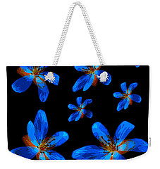Weekender Tote Bag featuring the photograph Study Of Seven Flowers #1 by Ari Salmela