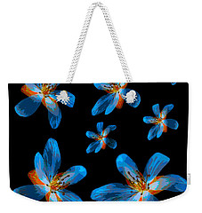 Weekender Tote Bag featuring the photograph Study Of Seven Flowers #2 by Ari Salmela