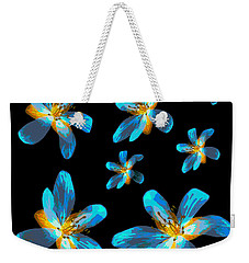 Weekender Tote Bag featuring the photograph Study Of Seven Flowers #4 by Ari Salmela