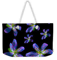 Weekender Tote Bag featuring the photograph Study Of Seven Flowers #6 by Ari Salmela