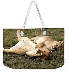 Stuffed Weekender Tote Bag