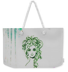 Stylin' Inverted 2 Weekender Tote Bag by Kelly Awad