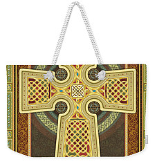 Stylized Celtic Cross Weekender Tote Bag