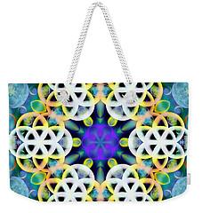 Subatomic Orbit Weekender Tote Bag