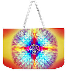 Weekender Tote Bag featuring the photograph Expanding Vision by Kellice Swaggerty