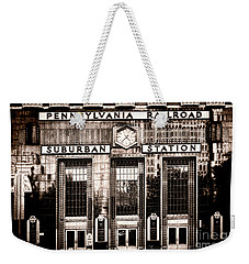 Suburban Station Weekender Tote Bag