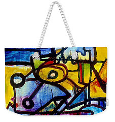 Suburbias Daily Beat Weekender Tote Bag by Regina Valluzzi