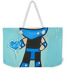 Subzero Frozen Heart Weekender Tote Bag