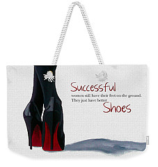 Successful Woman Weekender Tote Bag by Rebecca Jenkins