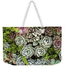 Succulent Garden 1 Weekender Tote Bag