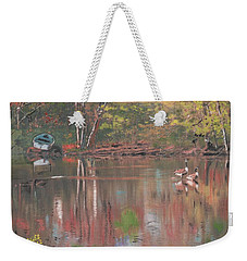 Sudbury River Weekender Tote Bag