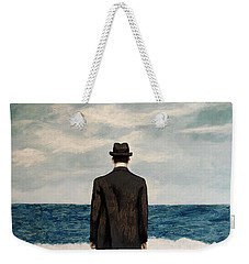 Suddenly Small Weekender Tote Bag