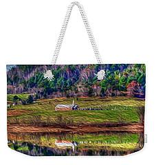 Sugar Grove Reflection Weekender Tote Bag
